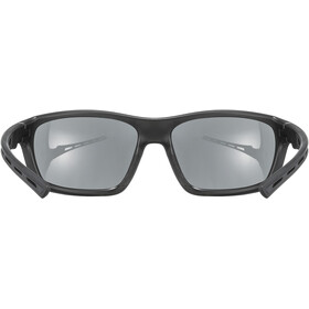UVEX Sportstyle 229 Glasses, zwart/zilver